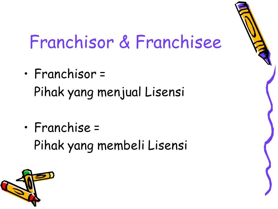 Franchisor & Franchisee
