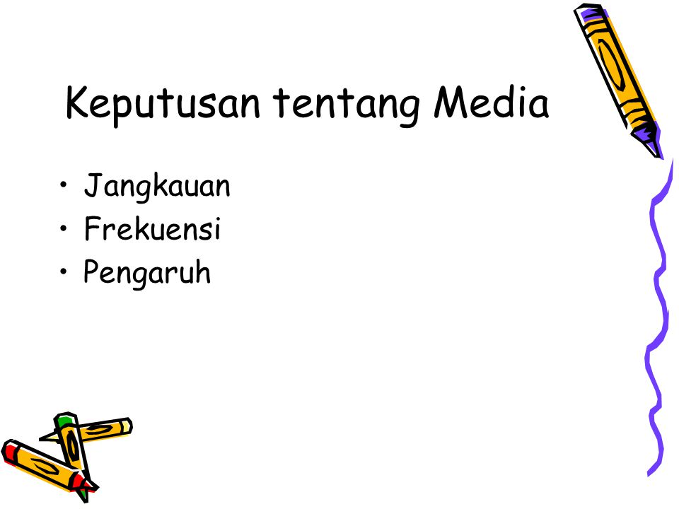 Keputusan tentang Media