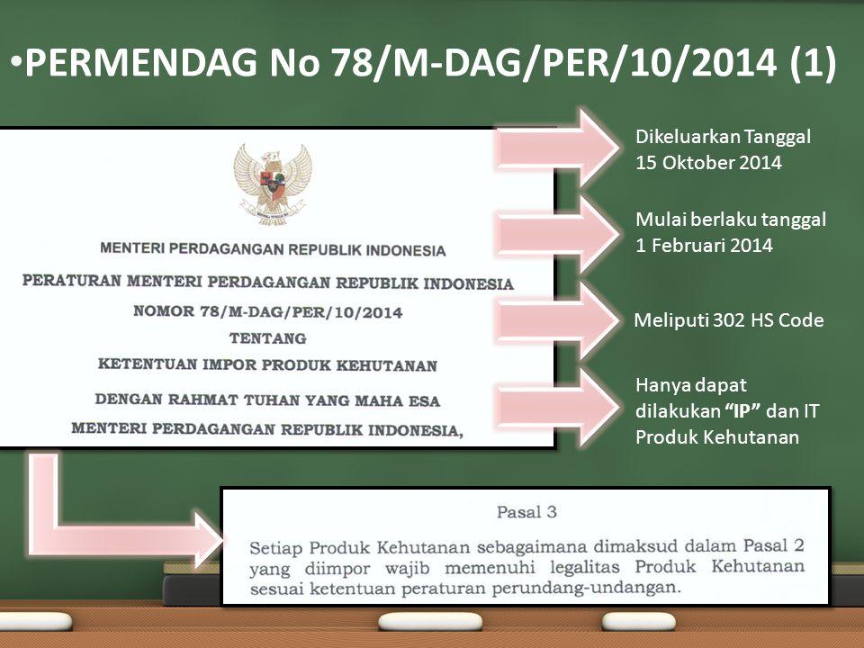 PERMENDAG No 78/M-DAG/PER/10/2014 (1)