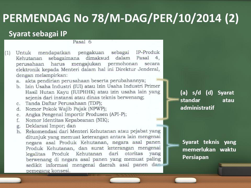 PERMENDAG No 78/M-DAG/PER/10/2014 (2)