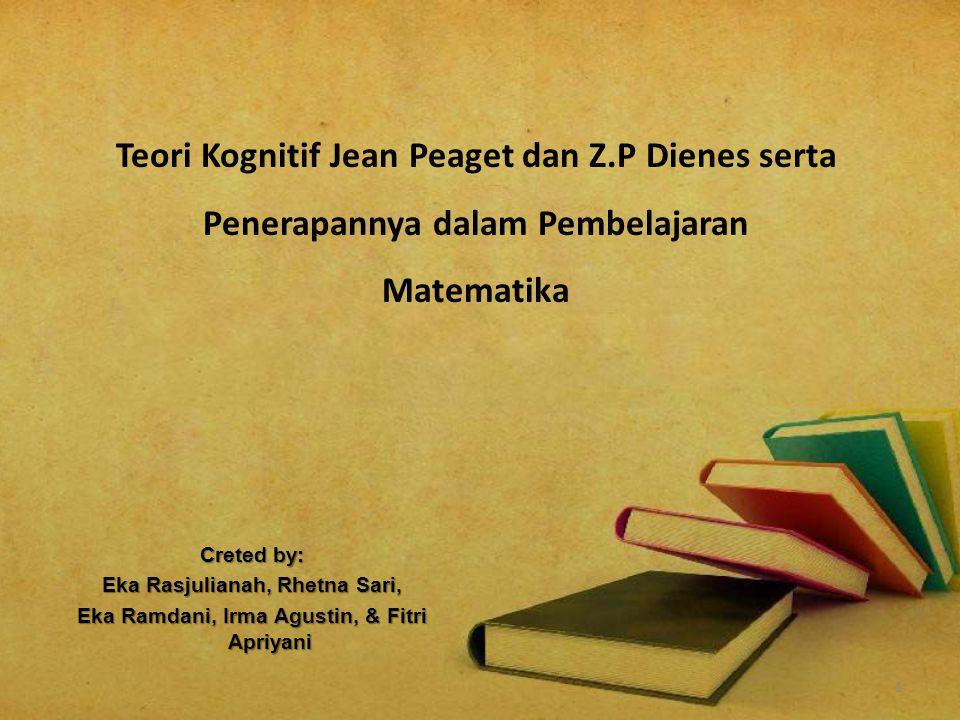 Teori Kognitif Jean Peaget dan Z