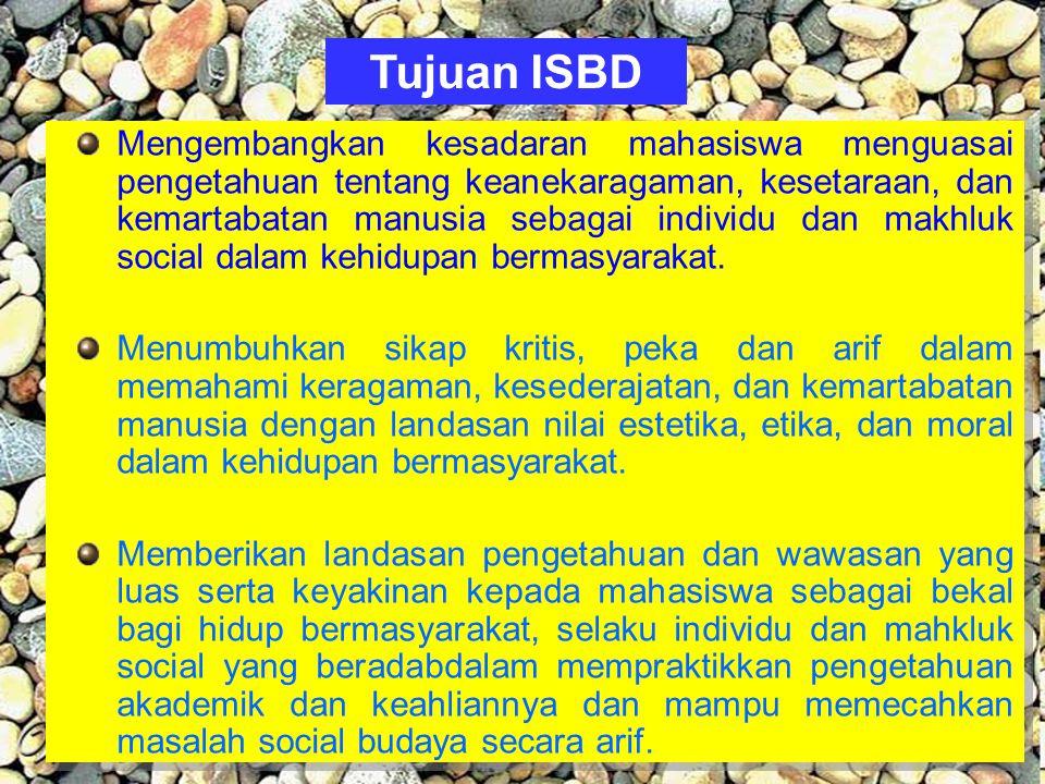 Tujuan ISBD