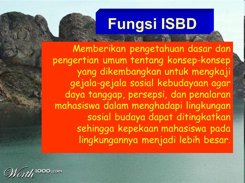 Fungsi ISBD