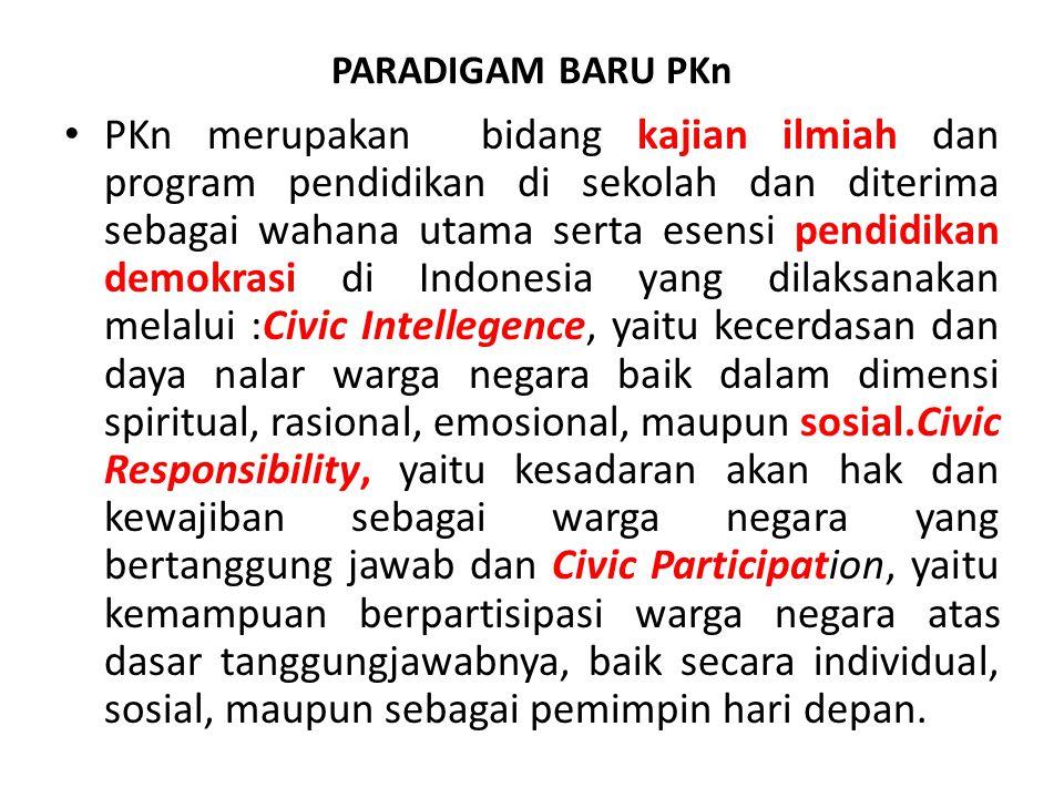PARADIGAM BARU PKn