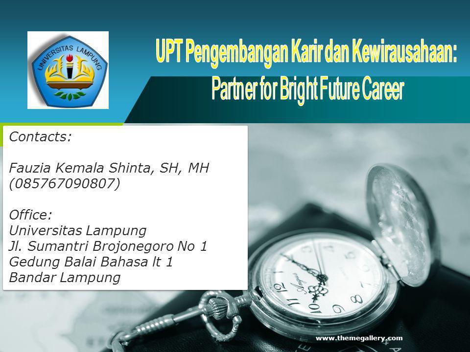 UPT Pengembangan Karir dan Kewirausahaan: