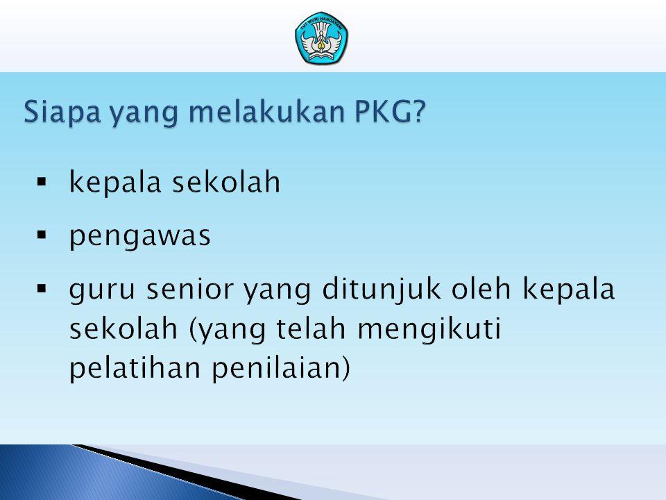 Siapa yang melakukan PKG