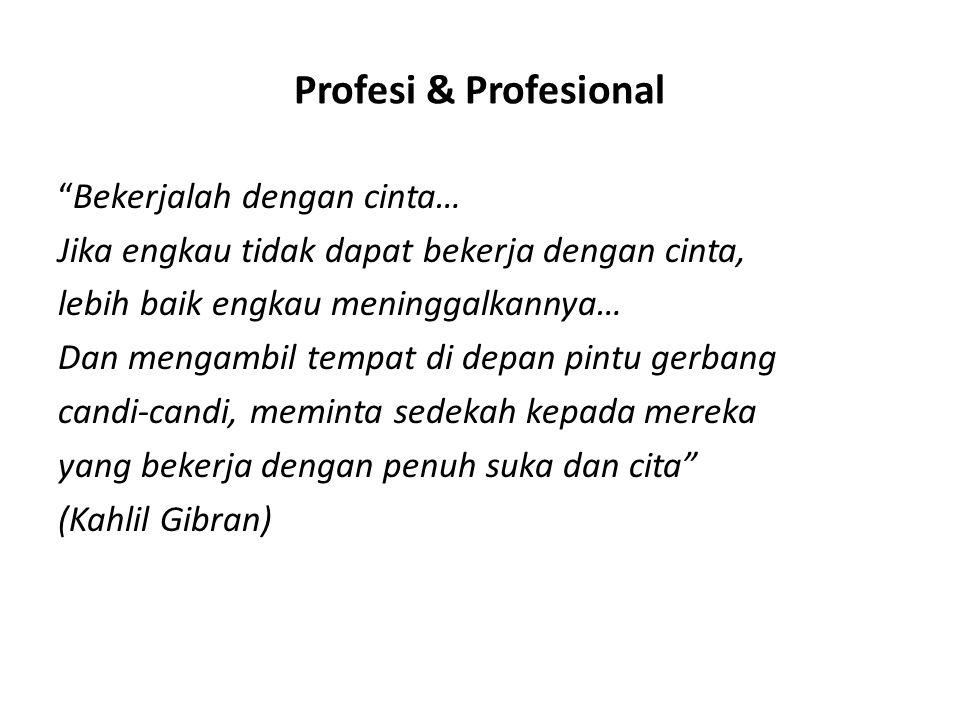 Profesi & Profesional