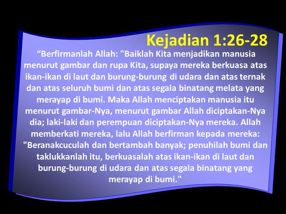 Kejadian 1:26-28