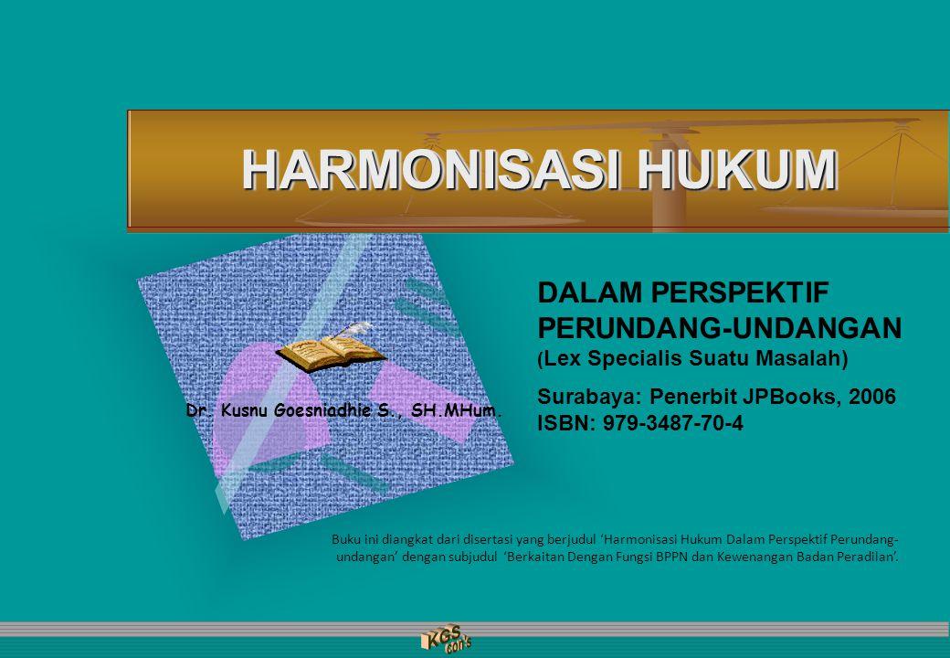 Dr. Kusnu Goesniadhie S., SH.MHum.