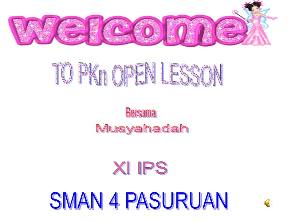 TO PKn OPEN LESSON Bersama Musyahadah XI IPS SMAN 4 PASURUAN
