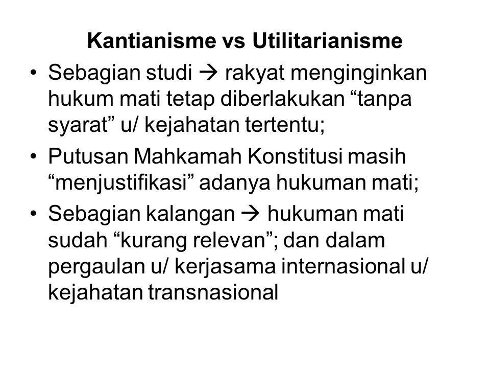 Kantianisme vs Utilitarianisme