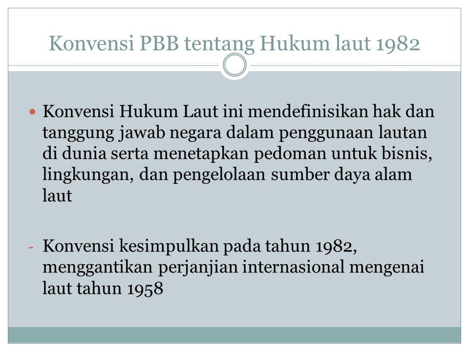 Konvensi PBB tentang Hukum laut 1982