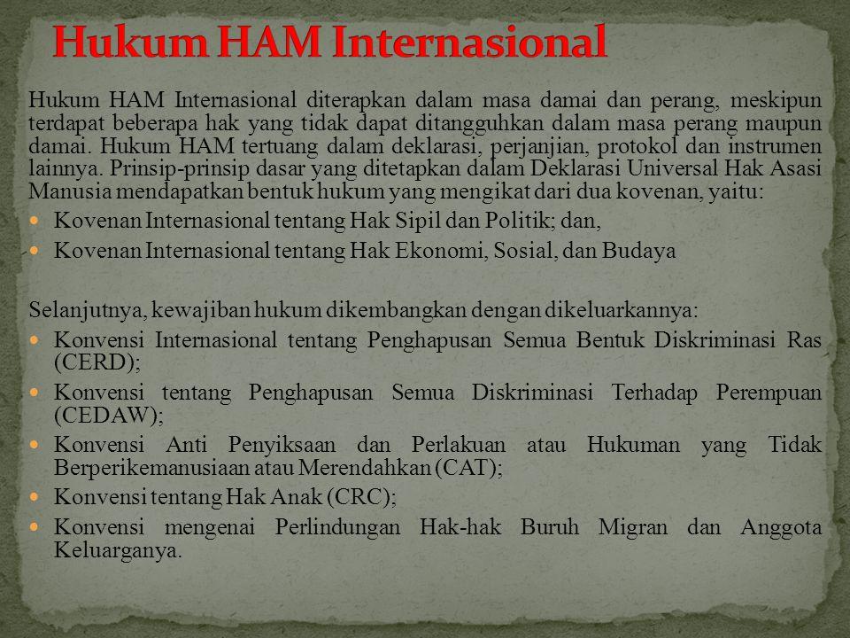 Hukum HAM Internasional