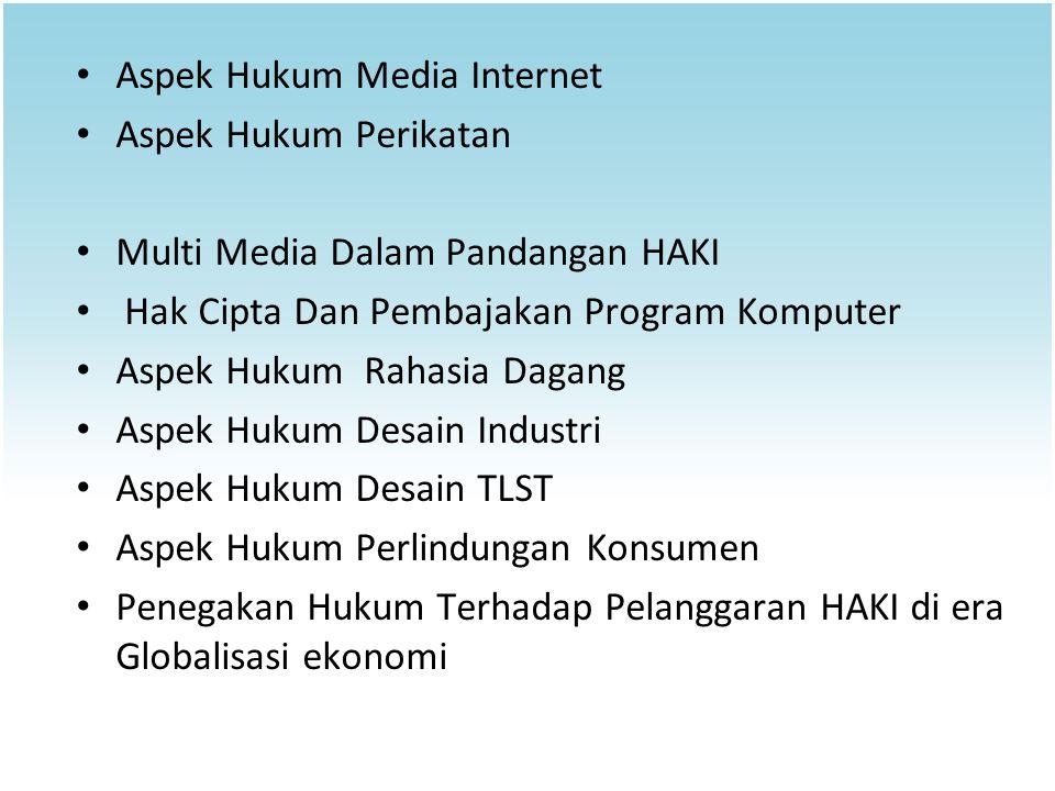 Aspek Hukum Media Internet