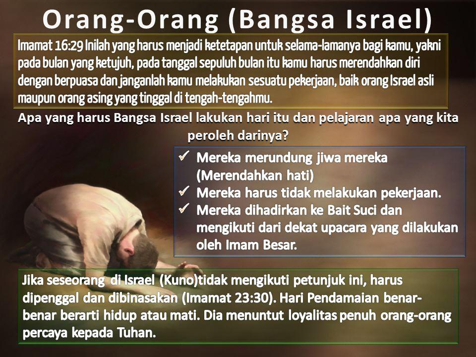 Orang-Orang (Bangsa Israel)