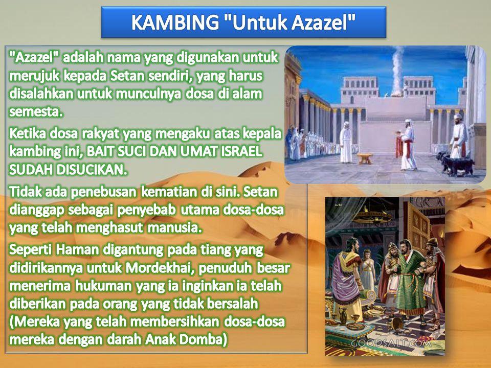 KAMBING Untuk Azazel