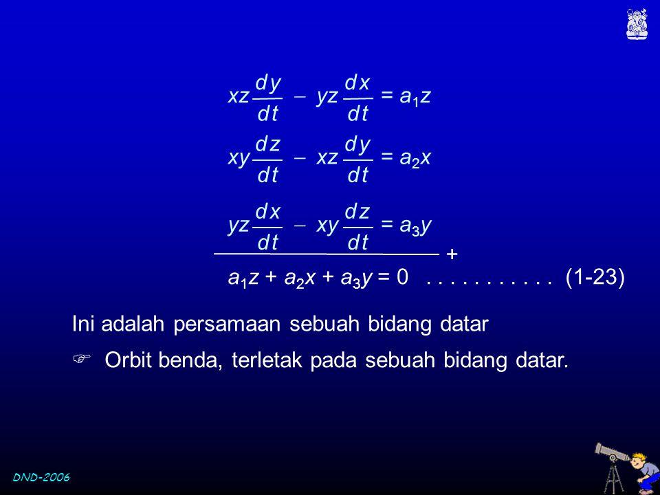 xz  yz = a1z d y. d t. d x. xy  xz = a2x. d z. d t. d y. yz  xy = a3y.