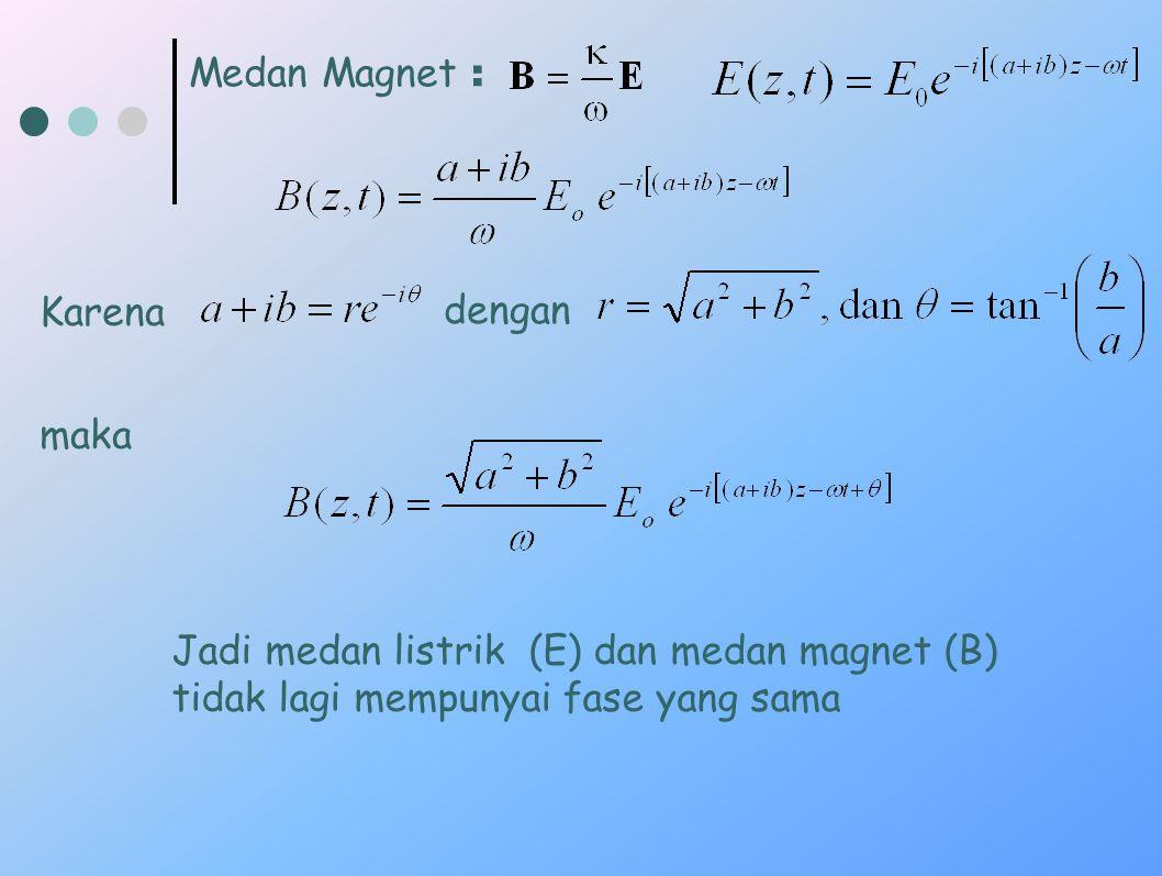 Medan Magnet : Karena. dengan. maka.