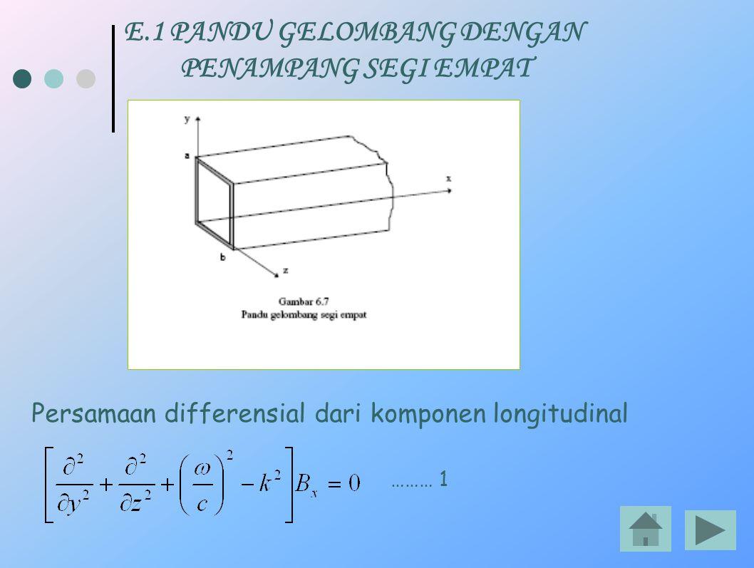 E.1 PANDU GELOMBANG DENGAN