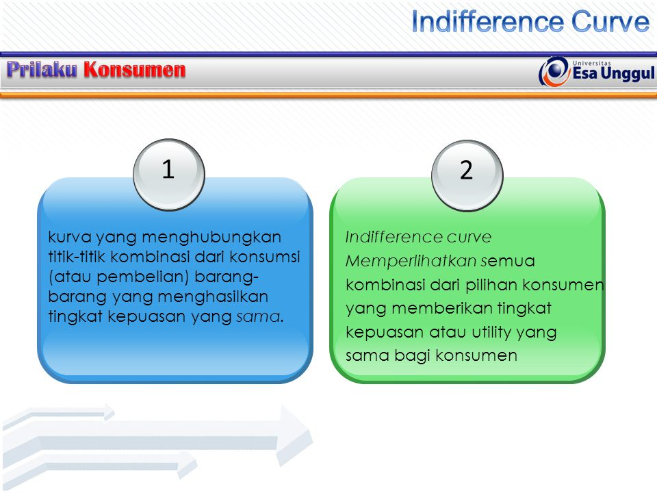 Indifference Curve 1 2 Prilaku Konsumen