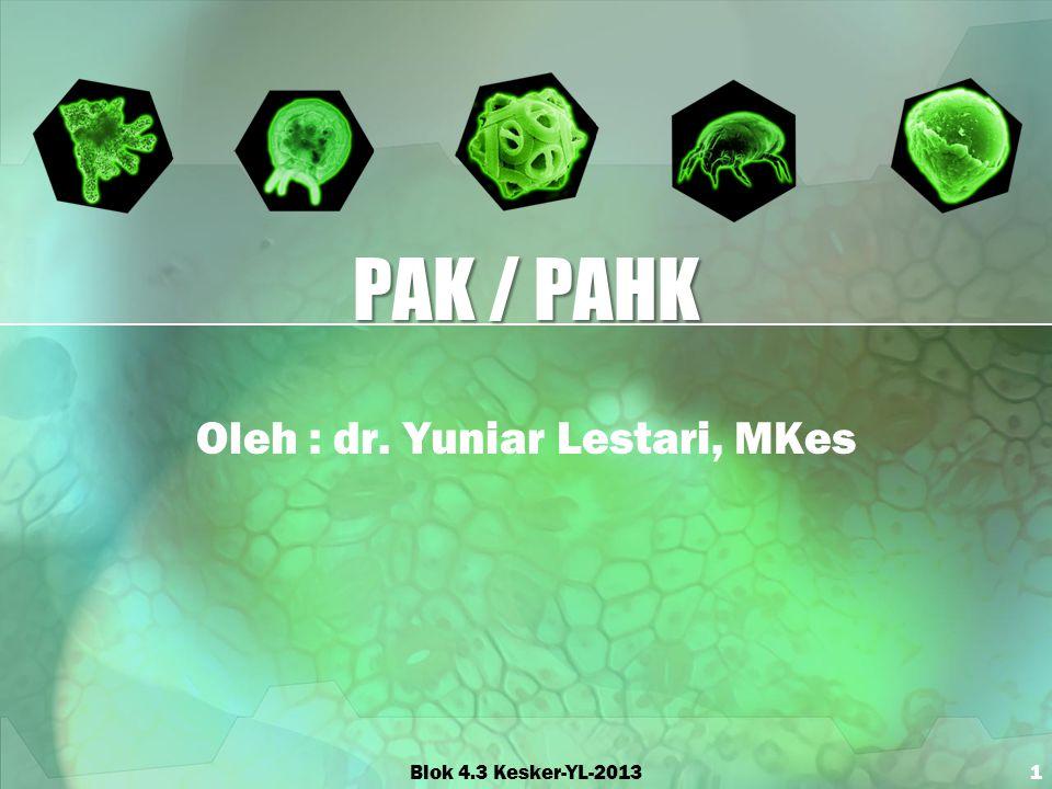 Oleh : dr. Yuniar Lestari, MKes