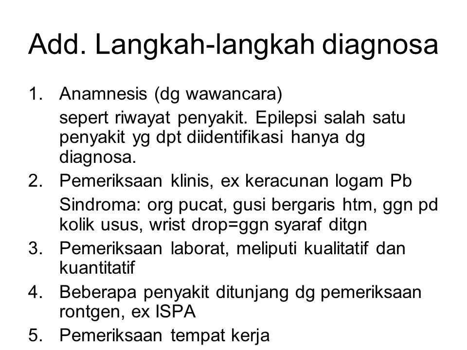Add. Langkah-langkah diagnosa