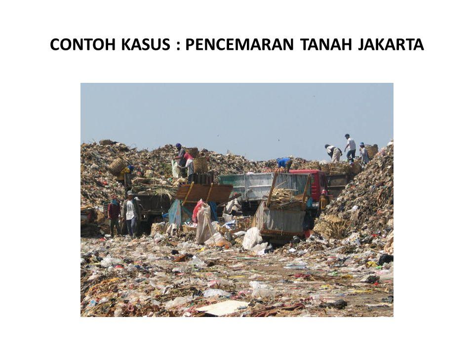 CONTOH KASUS : PENCEMARAN TANAH JAKARTA
