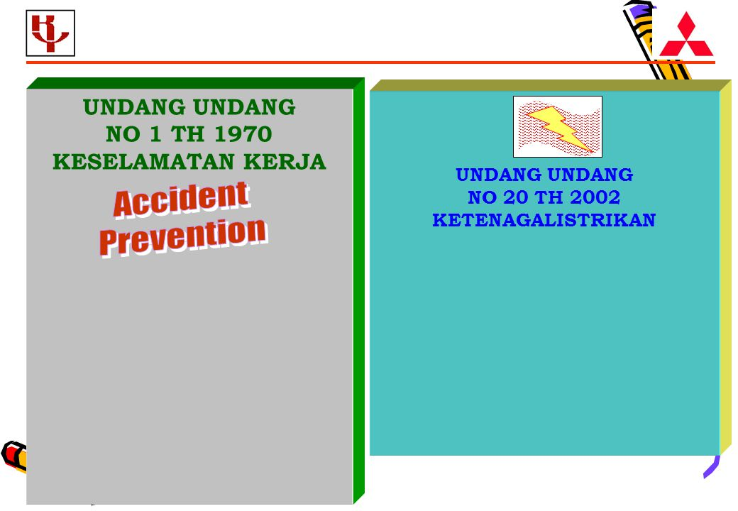 Accident Prevention UNDANG UNDANG NO 1 TH 1970 KESELAMATAN KERJA