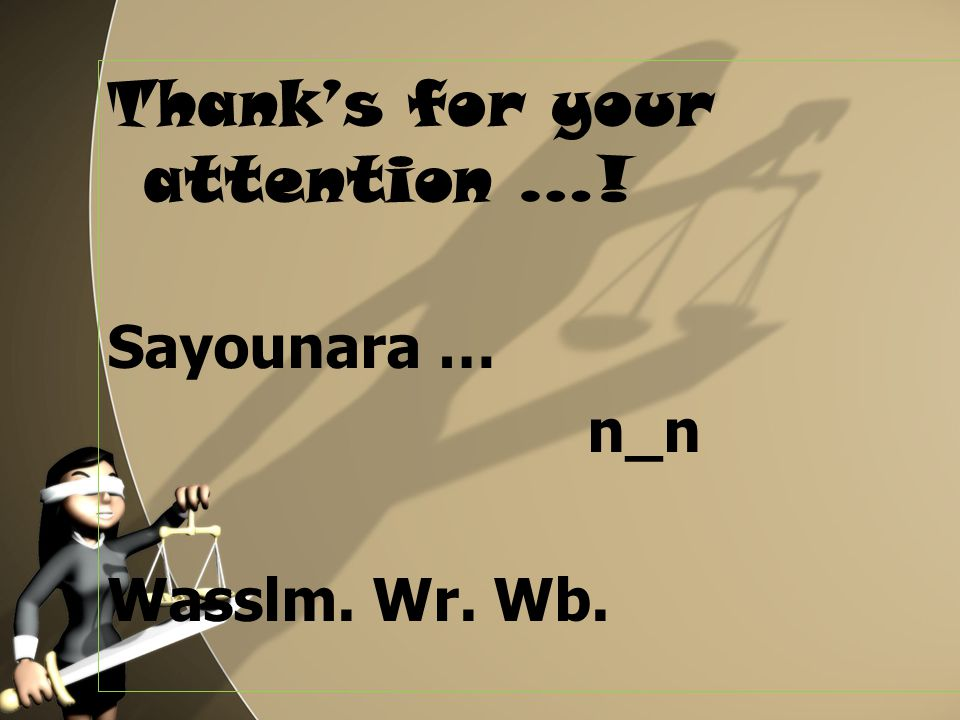 Thank's for your attention …!