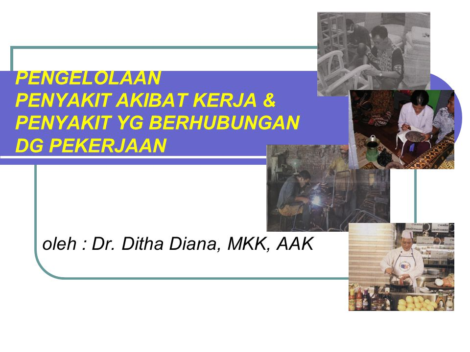 oleh : Dr. Ditha Diana, MKK, AAK