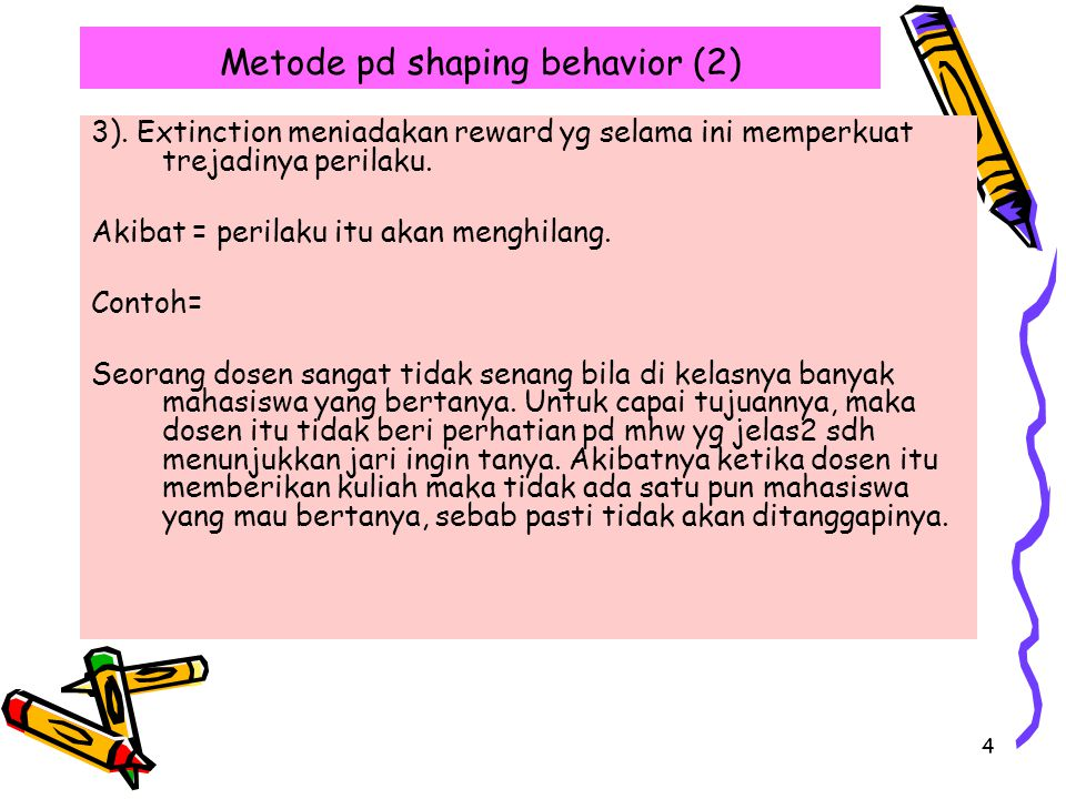 Metode pd shaping behavior (2)