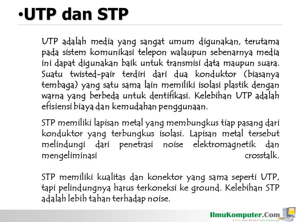 UTP dan STP