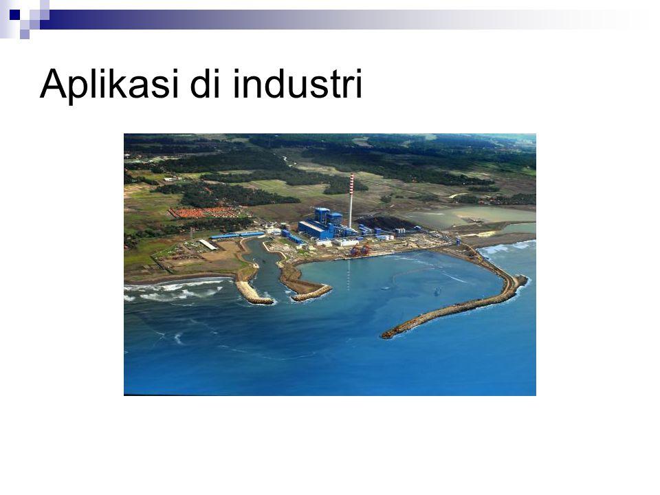 Aplikasi di industri PLTU Cilacap