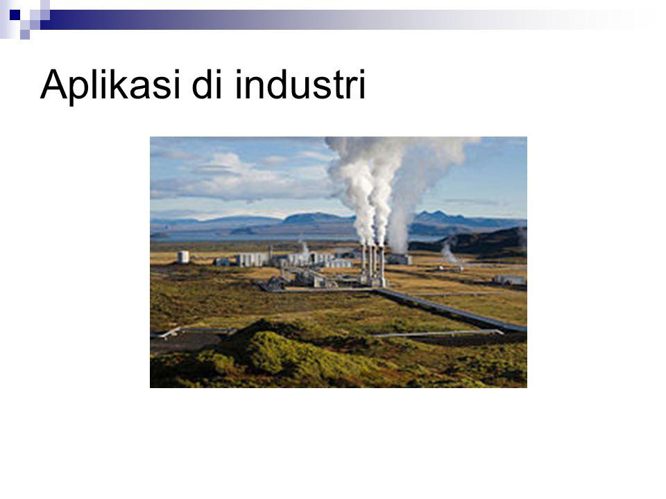 Aplikasi di industri Pembangkit listrik tenaga geotermal di Iceland