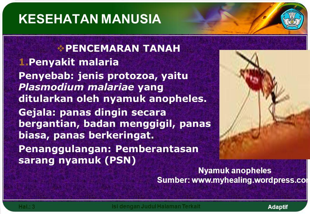 Sumber: www.myhealing.wordpress.com Isi dengan Judul Halaman Terkait