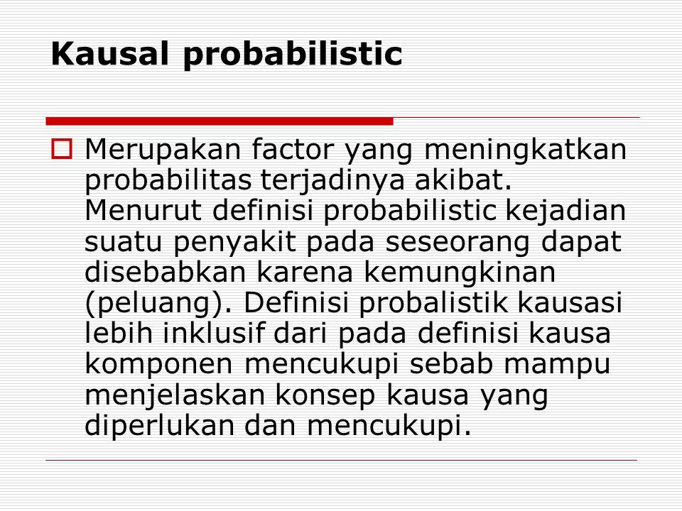 Kausal probabilistic
