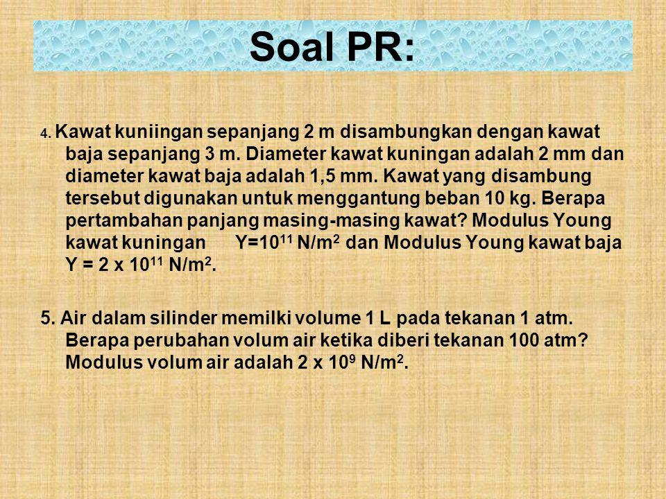 Soal PR: