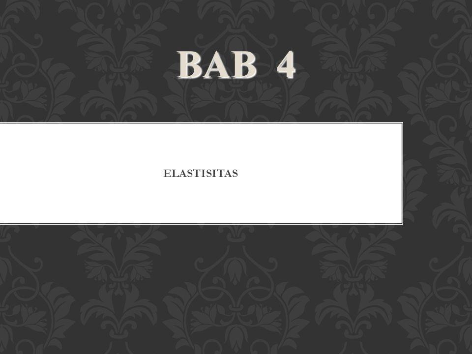 BAB 4 ELASTISITAS 49 36 49 50 49 49 49 49