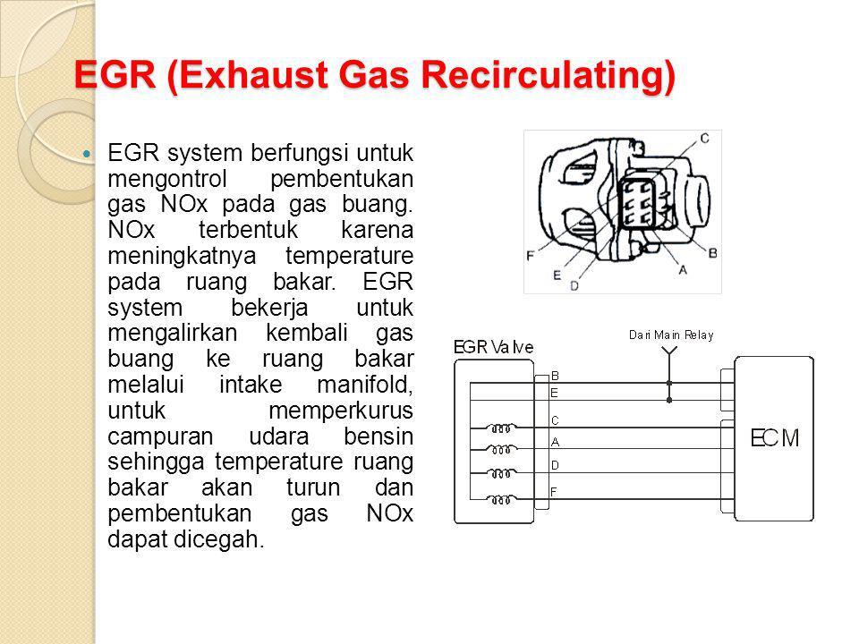 EGR (Exhaust Gas Recirculating)