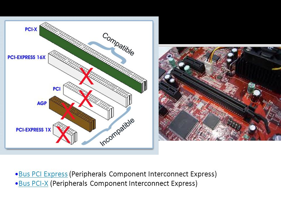 Bus PCI Express (Peripherals Component Interconnect Express)