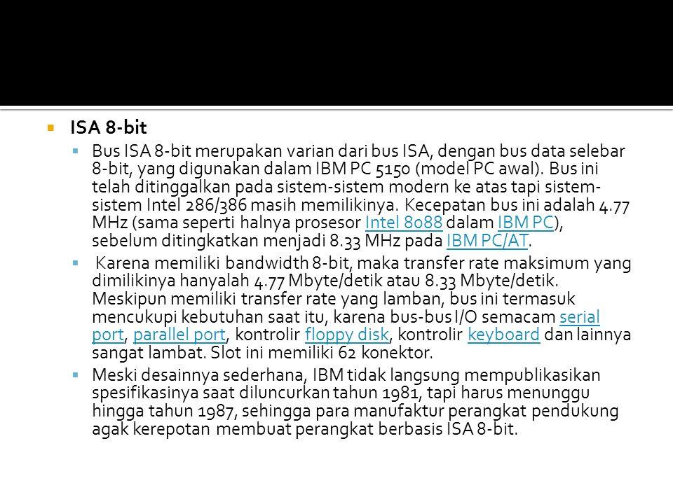 ISA 8-bit