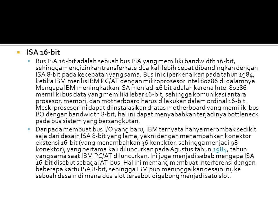 ISA 16-bit