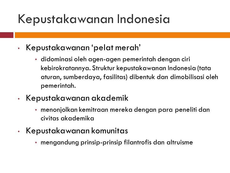 Kepustakawanan Indonesia