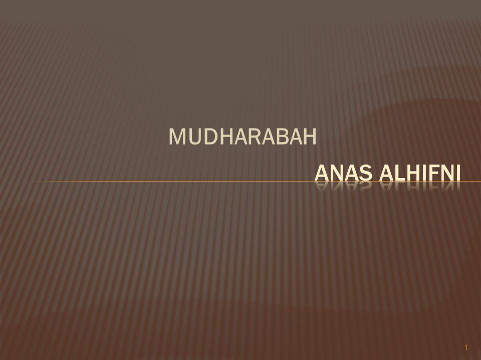 MUDHARABAH ANAS ALHIFNI