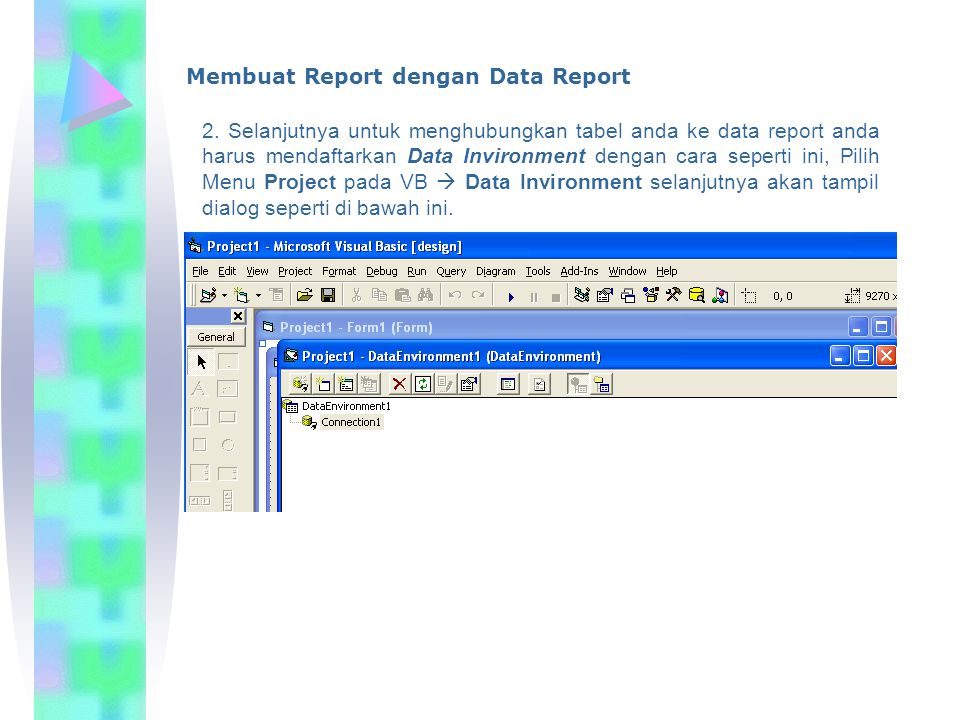 Membuat Report dengan Data Report