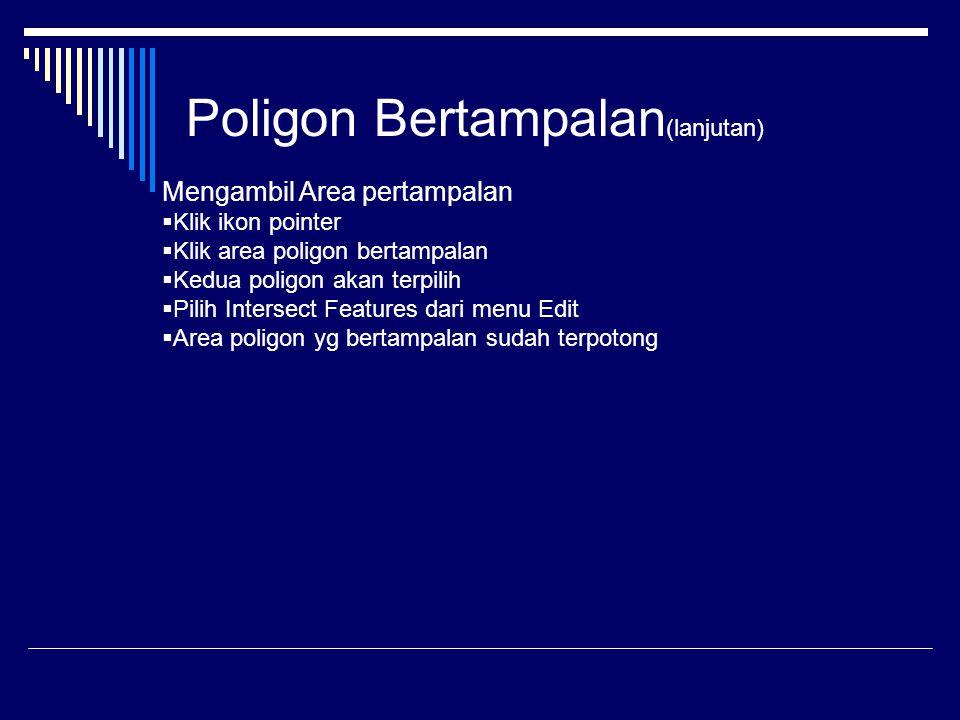 Poligon Bertampalan(lanjutan)