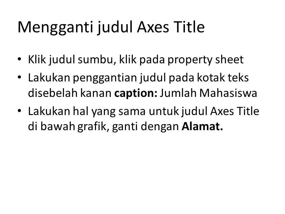 Mengganti judul Axes Title