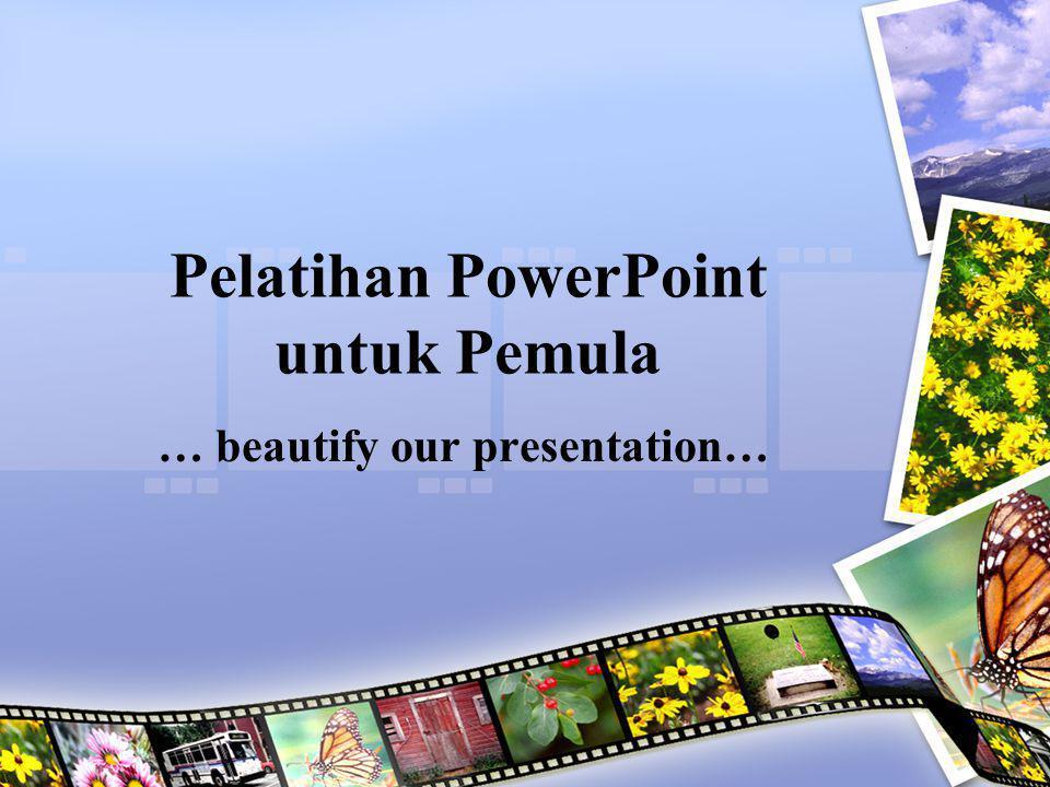 Pelatihan PowerPoint untuk Pemula