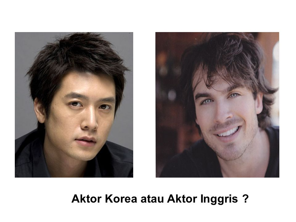 Aktor Korea atau Aktor Inggris