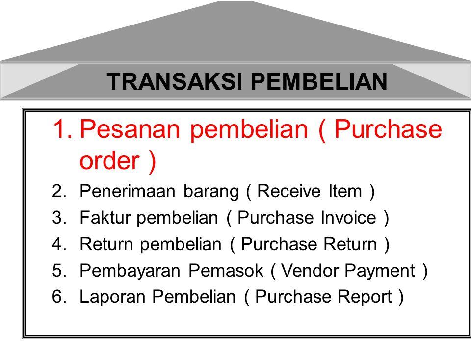 Pesanan pembelian ( Purchase order )